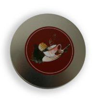 Tebehållare Silver - Black Tea - Lock